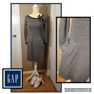 GAP Long Sleeve Cotton Dress w/Pockets